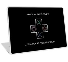 Console Yourself Laptop Skin
