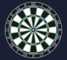 Neon Dartboard One Piece - Long Sleeve