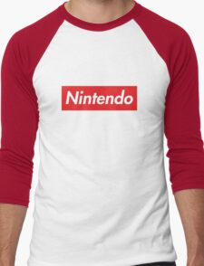 "Nintendo ""sup"" style Men's Baseball ¾ T-Shirt"