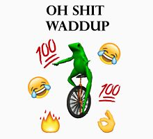 oh shit waddup here come dat boi meme Unisex T-Shirt