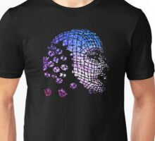 Future Face Pixel Away Unisex T-Shirt