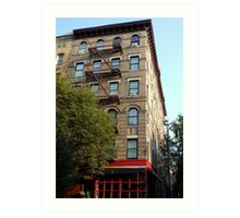 Friends Apartment Building New York NYC Art Print
