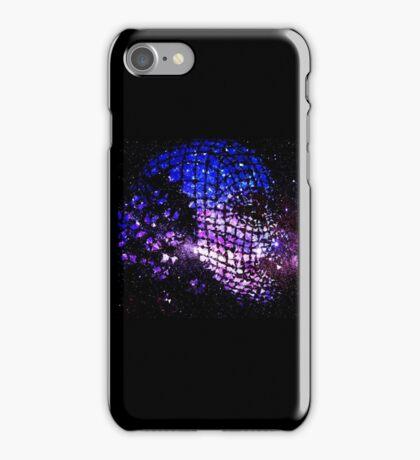 Future Face in Space iPhone Case/Skin