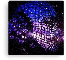 Future Face in Space Canvas Print