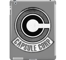 °DRAGON BALL Z° Capsule Corp V1.0 iPad Case/Skin