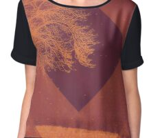 Sunset on the Plains Chiffon Top