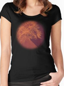 Sunset on the Plains Women's Fitted Scoop T-Shirt