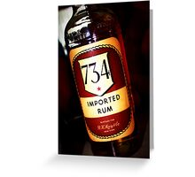 1961 Rum Greeting Card