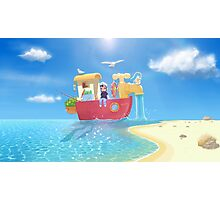 The Go Anywhere Boat Photographic Print