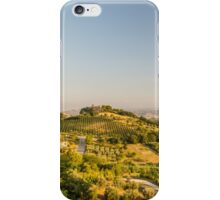 evening in the fields iPhone Case/Skin