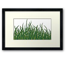 Green revolution Framed Print