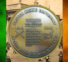 1916 - 2016 Easter Rising Centenary Sticker