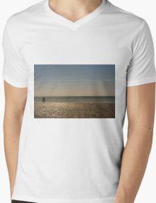 West Wittering Beach Mens V-Neck T-Shirt