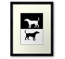 foxhound Framed Print