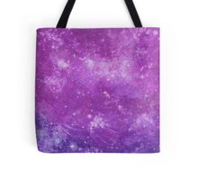 Pink and Purple Starry Sky Tote Bag