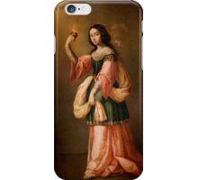 Francisco de Zurbarán Allegory of Charity, iPhone Case/Skin