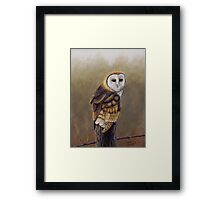 His Majesty sits Framed Print