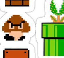 Mario bloc Sticker