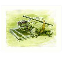 Science Turtle Art Print