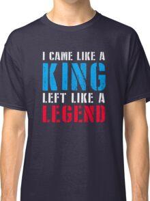 Zlatan left from PSG like a Legend Classic T-Shirt