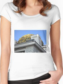 Secession Building Vienna Women's Fitted Scoop T-Shirt