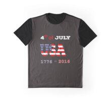 The 4th of July Graphic T-Shirt