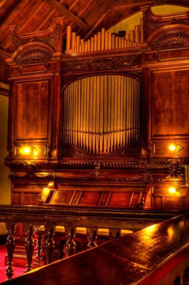 Old Chapel Organ by Stephen Frost