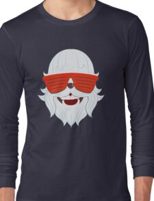 Party at Yeti's (Snow Yeti Edition) Long Sleeve T-Shirt