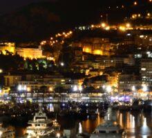 Bright Lights of Monte Carlo  Sticker