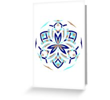 06 - Icy Forest Greeting Card