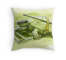 Science Turtle Throw Pillow