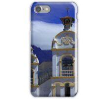 Quiroga Church With Mount Cotacachi iPhone Case/Skin