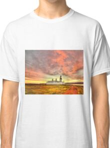 Lighthouse at Chanonry Point, Black Isle, Scotland Classic T-Shirt