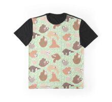 Sloth-mania Graphic T-Shirt