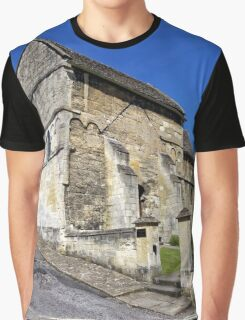 St Laurence's Church, Bradford on Avon, Wiltshire, UK Graphic T-Shirt