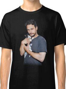 James Franco's Cat Classic T-Shirt