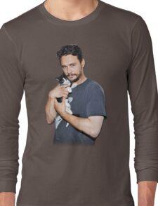 James Franco's Cat Long Sleeve T-Shirt