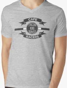 Italian Bike Service Cafe Racers Mens V-Neck T-Shirt