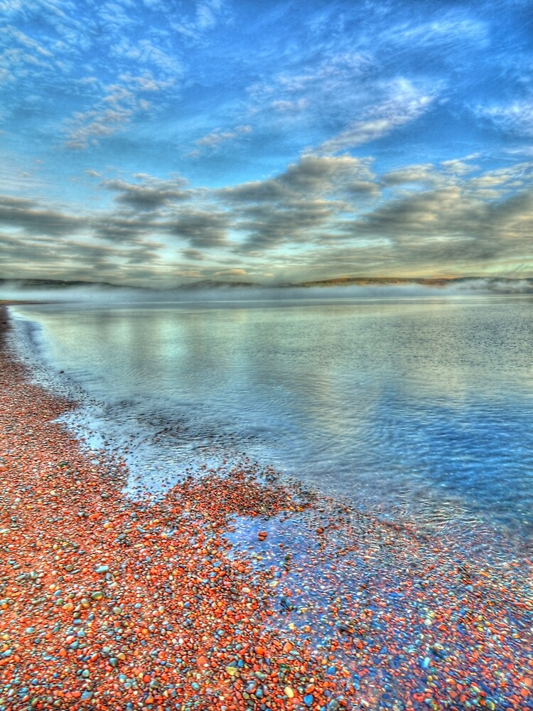 Shoreline and Sea by Stephen Frost