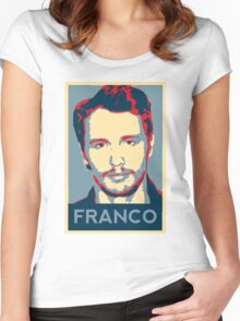 Vote For Franco Women's Fitted Scoop T-Shirt