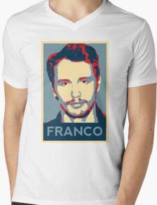 Vote For Franco Mens V-Neck T-Shirt