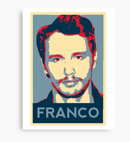Vote For Franco Canvas Print