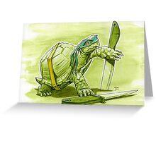 Leader Turtle Greeting Card