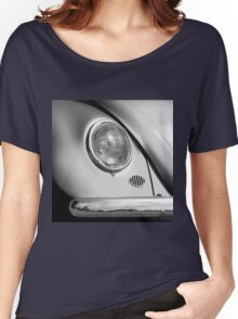 Monochromatic ~ Black & White VW Beetle image Women's Relaxed Fit T-Shirt