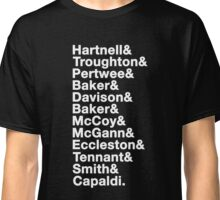 The Twelve Doctors Classic T-Shirt