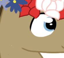 Doctor Whooves- Move foward Sticker