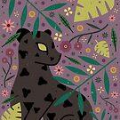 Black Jaguar Cub by CarlyWatts