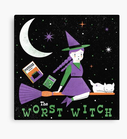 The Worst Witch Canvas Print