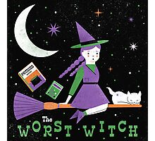 The Worst Witch Photographic Print