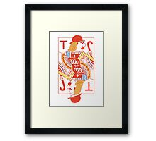 Just our luck Framed Print
